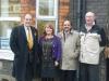 Simon Hughes MP, Linda Jack, Lord Qurban Hussain, Cllr Michael Dolling